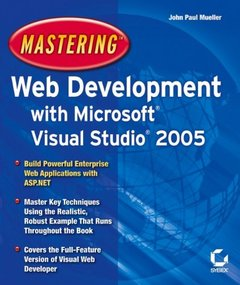 Mastering Web Development with Microsoft Visual Studio 2005 (Paperback)-cover