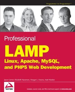Professional LAMP: Linux, Apache, MySQL and PHP Web Development-cover