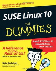 SUSE Linux 10 For Dummies-cover