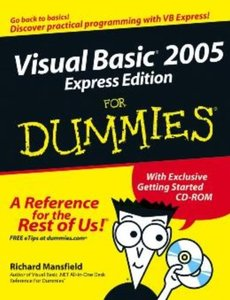 Visual Basic 2005 Express Edition For Dummies-cover