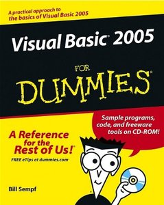 Visual Basic 2005 For Dummies-cover