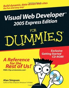 Visual Web Developer 2005 Express Edition For Dummies-cover