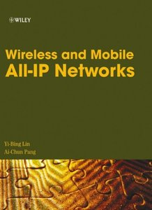 Wireless and Mobile All-IP Networks (Hardcover)-cover