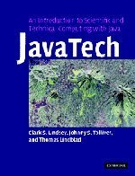 JavaTech, an Introduction to Scientific and Technical Computing with Java-cover