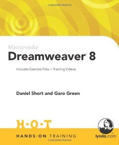 Macromedia Dreamweaver 8 Hands-On Training-cover
