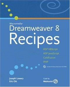 Macromedia Dreamweaver 8 Recipes-cover