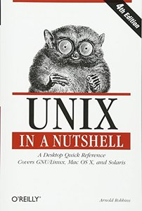 Unix in a Nutshell, 4/e-cover