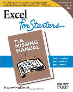 Excel for Starters: The Missing Manual-cover