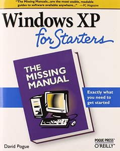 Windows XP for Starters: The Missing Manual-cover