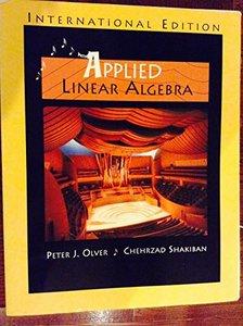 Applied Linear Algebra (IE)