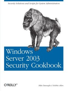 Windows Server 2003 Security Cookbook-cover