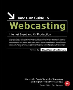 Hands-On Guide to Webcasting: Internet Event and AV Production (Paperback)-cover