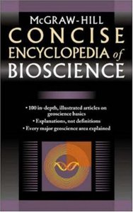 McGraw-Hill Concise Encyclopedia of Bioscience (Paperback)-cover