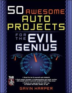 50 Awesome Auto Projects for the Evil Genius-cover