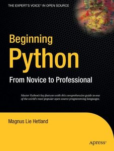 Beginning Python: From Novice to Professional-cover