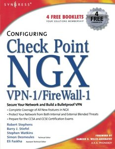 Configuring Check Point NGX VPN-1/Firewall-1-cover