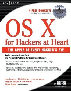 OS X for Hackers at Heart (PAperback)-cover