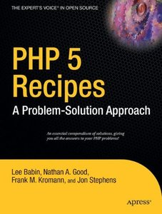 PHP 5 Recipes: A Problem-Solution Approach-cover