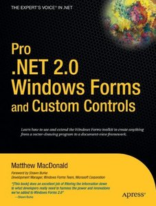 Pro .NET 2.0 Windows Forms and Custom Controls in C#-cover