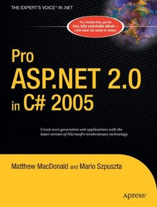 Pro ASP.NET 2.0 in C# 2005-cover