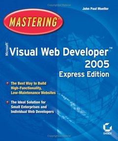 Mastering Microsoft Visual Web Developer 2005-cover