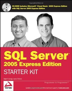 Wrox's SQL Server 2005 Express Edition Starter Kit-cover