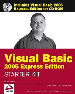 Wrox's Visual Basic 2005 Express Edition Starter Kit-cover