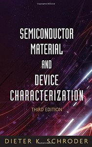 Semiconductor Material and Device Characterization, 3/e-cover