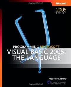 Programming Microsoft Visual Basic 2005: The Language-cover