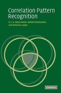Correlation Pattern Recognition (Hardcover)-cover