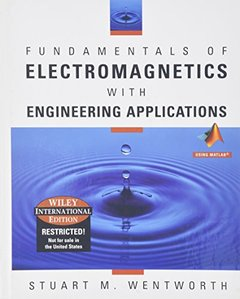 Fundamentals of Electromagnetics with Engineering Applications using Matlab (Hardcover)-cover