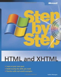 HTML and XHTML Step by Step (Paperback)-cover