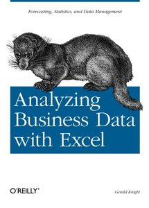 Analyzing Business Data with Excel (Paperback)-cover