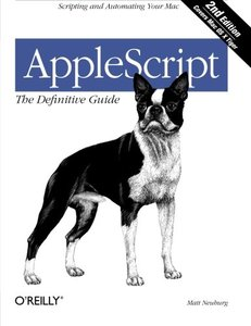 AppleScript: The Definitive Guide, 2/e-cover