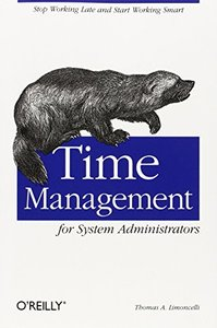 Time Management for System Administrators (Paperback)-cover