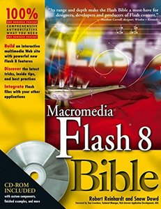 Macromedia Flash 8 Bible-cover