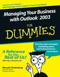 Managing Your Business with Outlook 2003 For Dummies-cover