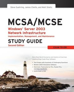 MCSA/MCSE: Windows Server 2003 Network Infrastructure Implementation, Management, and Maintenance Study Guide : Exam 70-291, 2/e-cover