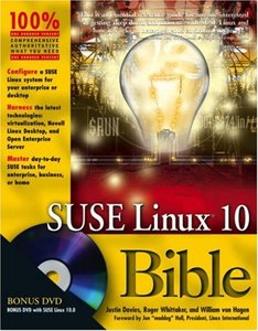 SUSE Linux 10 Bible (Paperbacl)-cover