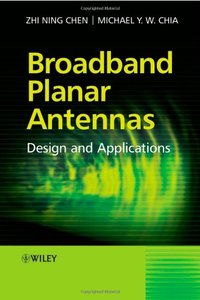 Broadband Planar Antennas: Design and Applications-cover