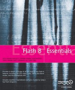 Flash 8 Essentials (Paperback)-cover