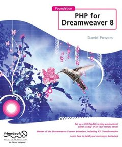Foundation PHP for Dreamweaver 8-cover