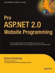 Pro ASP.NET 2.0 Website Programming-cover