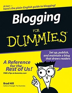 Blogging For Dummies-cover