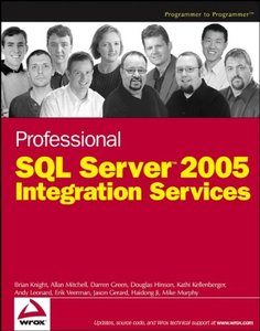 Professional SQL Server 2005 Integration Services-cover