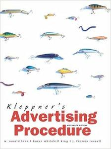 Kleppner's Advertising Procedure, 16/e