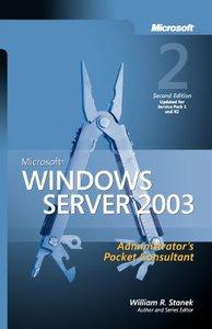 Microsoft Windows Server 2003 Administrator's Pocket Consultant, 2/e (Paperback)-cover
