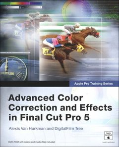 Apple Pro Training Series: Advanced Color Correction and Effects in Final Cut Pro 5-cover