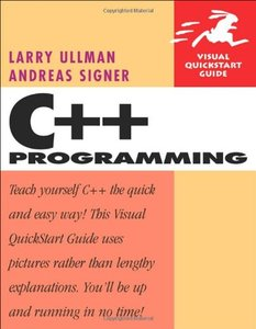 C++ Programming: Visual QuickStart Guide (Paperback)-cover