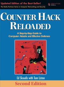 Counter Hack Reloaded: A Step-by-Step Guide to Computer Attacks and Effective Defenses, 2/e-cover
